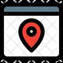 Web Location Icon