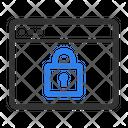 Web Lock Web Security Secure Web Icon