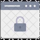 Web Lock Website Lock Web Security Icon