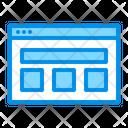 Web Lyout Icon