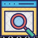 Web Magnifying Icon