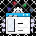 Web Maintenance Web Advancement Web Configuration Icon