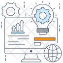 Web Maintenance Web Setting Software Setting Icon