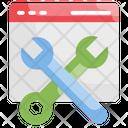 Web Maintenance Configuration Maintenance Icon