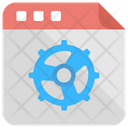 Web Maintenance Service Icon