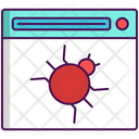 Web Malware Malware Web Icon