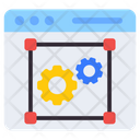Web Management Web Programing Web Development Icon