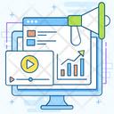 Web Marketing Online Marketing Publicity Icon