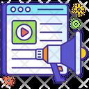 Web Marketing Web Advertisement Web Promotion Icon