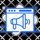Web Marketing Digital Marketing Publicity Icon