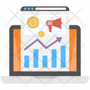 Web Marketing Analytics Icon