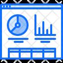 Web metrics Icon