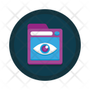 Web Monitoring Cyber Security Cyber Monitoring Icon