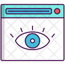 Web Monitoring Network Monitoring Http Monitoring Icon