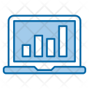 Growth Traffic Web Icon
