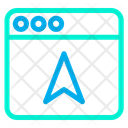 Web Website Direction Arrow Icon