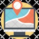 Website Location Pin Icon