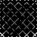 Web Network Web Connections Web Nodes Icon