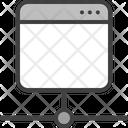 Server Proxy Hosting Icon