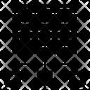 Web Network Web Structure Web Hierarchy Icon