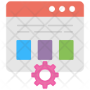 Web Operations Management Icon