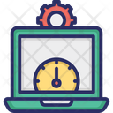 Web Optimization Web Performance Web Speed Icon