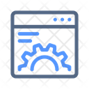 Optimization Web Settings Icon
