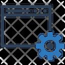 Optimization Page Settings Icon