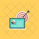 Optimization Web Traffic Icon