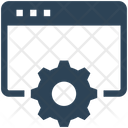 Seo Website Gear Icon