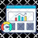 Web Analytics Web Ranking Web Optimization Icon