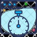 Web Optimization Stopwatch Icon