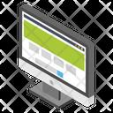 Web Page Search Bar Seo Icon