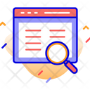 Browser Web Page Magnifier Icon