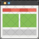 Web Page Web Window Web Design Icon