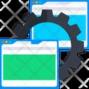 Web Page Website Devlopment Website Management Icon