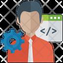 Web Page Developer Web Developer Website Developer Icon