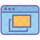 Web Page Layer Tool Website Icon