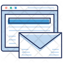 Web Page Message Web Notifications Data Infographic Icon