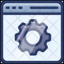 Web Page Setting Icon