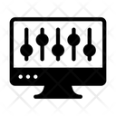 Web Parameters Web Equalizer Web Setting Icon