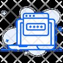 Web Passcode Web Password Web Security Icon