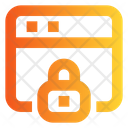 Web Password Secure Website Web Security Icon