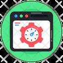 Web Speed Web Performance Web Optimization Icon