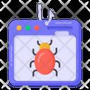 Web Phishing Icon