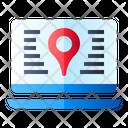 Web Pin Location Icon