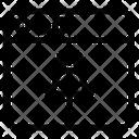 Web Website Location Pin Icon
