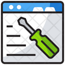 Web Setting Web Page Optimization Web Preferences Icon