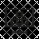 Web Principle Blocks Computer Icon