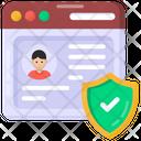 Web Account Web Profile Profile Safety Icon